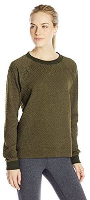 Lucy Women's Quilted Inner Strength Long-Sleeve Top $69 thestylecure.com