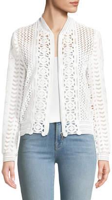 Elie Tahari Brandy Long-Sleeve Jacket