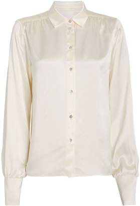 SABLYN Neveah Silk Button Down Blouse