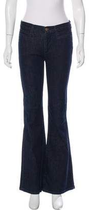 MiH Jeans High-Rise Kick Flare Jeans