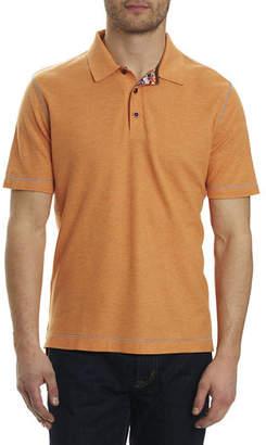 Robert Graham Messenger Heather Polo Shirt