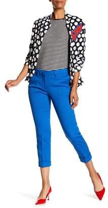 Love Moschino Con Piega Textured Pantalone
