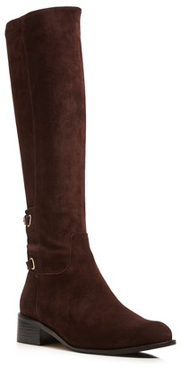 Delman Scott Buckled Tall Boots $448 thestylecure.com