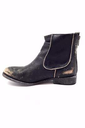 Matisse Black Distressed Boot