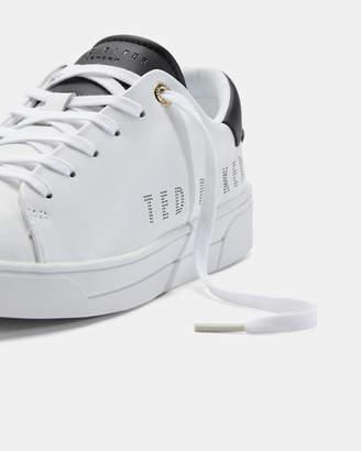 Ted Baker KERRIE Leather branded sneakers