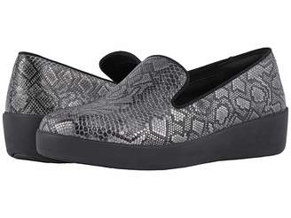 FitFlop Audrey Python Print Smoking Slippers Women's Shoes