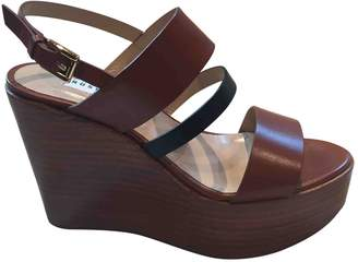 Fratelli Rossetti Brown Leather Sandals