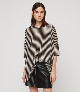 AllSaints Plira Stripe T-Shirt