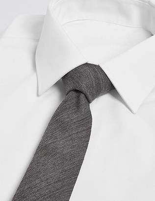Marks and Spencer Wool Rich Textured Tie