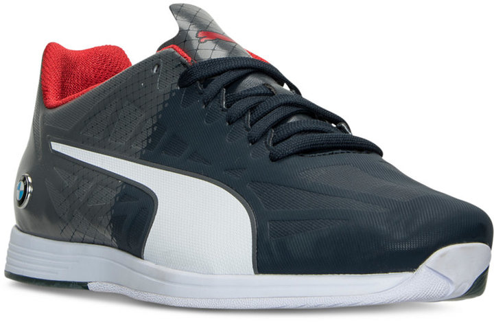 Puma Men's BMW Motorsport Evospeed Lace Casual Sneakers from Finish Line