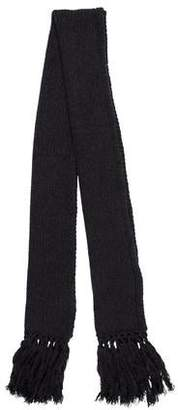 Dolce & Gabbana Cashmere Knit Scarf