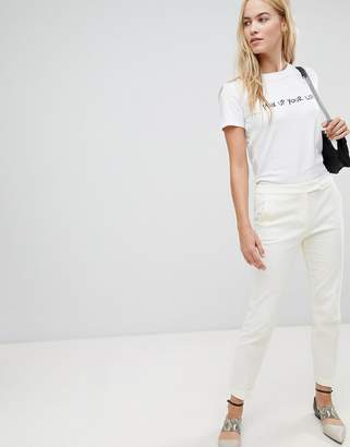 Max & Co. Max&Co Textured Tailored Pant