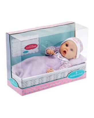 """Madame Alexander Dolls 16"""" Newborn Baby Doll, Lavender"""