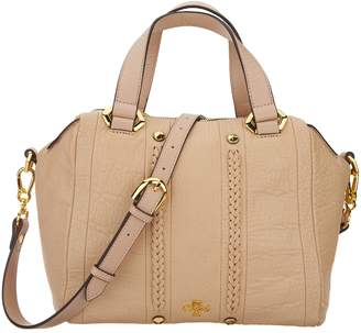 Oryany Lamb Leather Satchel Handbag - Nola