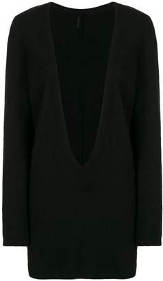 DAY Birger et Mikkelsen Unravel Project deep v-neck knitted dress