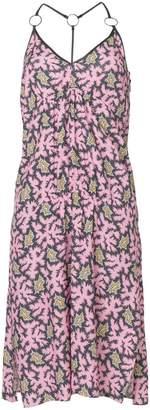 Victoria Beckham Victoria printed flared midi dress