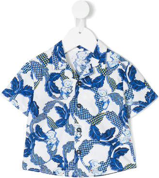 Versace Teddy print shirt