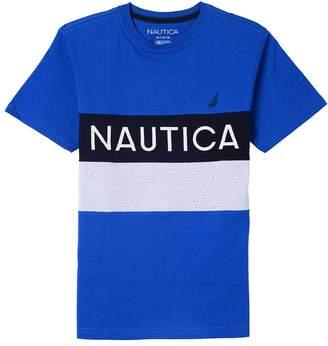 Nautica Big Boys' Short Sleeve Heritage Tee Shirt