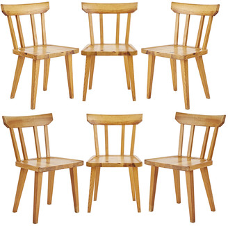 Rejuvenation Set of 6 Pine Dining Chairs by Karl Andersson & Sonar