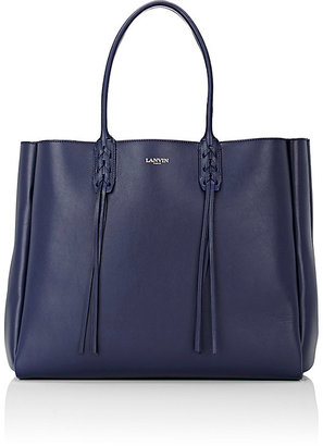 Lanvin Women's Tassel-Handle Extra-Large Shopper $1,650 thestylecure.com
