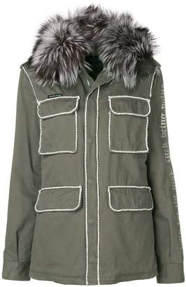 Philipp Plein hooded coat