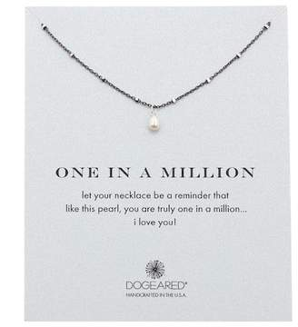 Dogeared One In A Million 5mm Rice Pearl Necklace