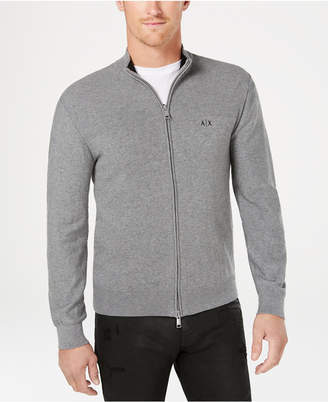 Armani Exchange Men's Zip-Front Cardigan