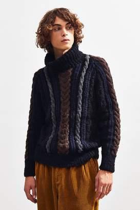 Monitaly Fisherman Turtleneck Sweater