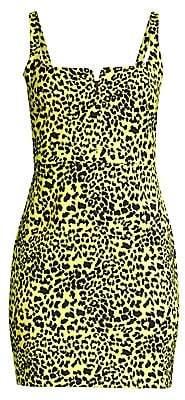 LIKELY Women's Constance Leopard Print Sheath Dress - Size 0
