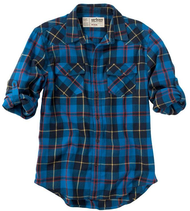 Urban Pipeline Holiday Western Flannel Shirt Sold Out
