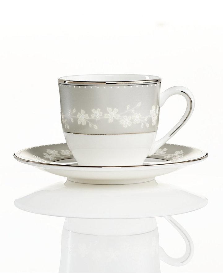 Lenox Bellina Espresso Cup and Saucer Set