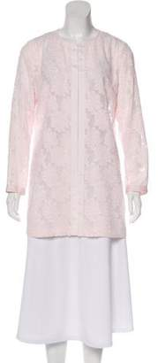 Karl Lagerfeld Embroidered Long Sleeve Jacket w/ Tags