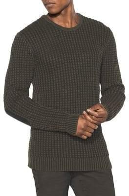 John Varvatos Cotton Linen Chunky Top