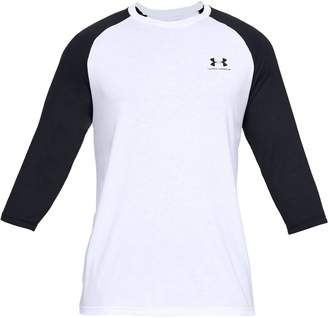 Under Armour Sportstyle Raglan-Sleeve Tee