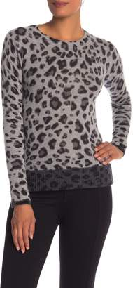 Magaschoni M BY Animal Patterned Cashmere Pullover
