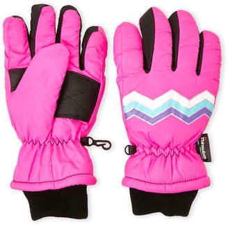 Capelli New York (Girls 7-14) Pink Nylon Ski Gloves