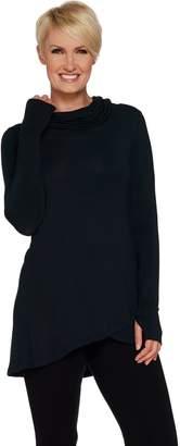 Cuddl Duds Softwear Stretch Criss Cross Tunic