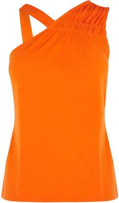 Karen Millen Asymmetric Shoulder Top
