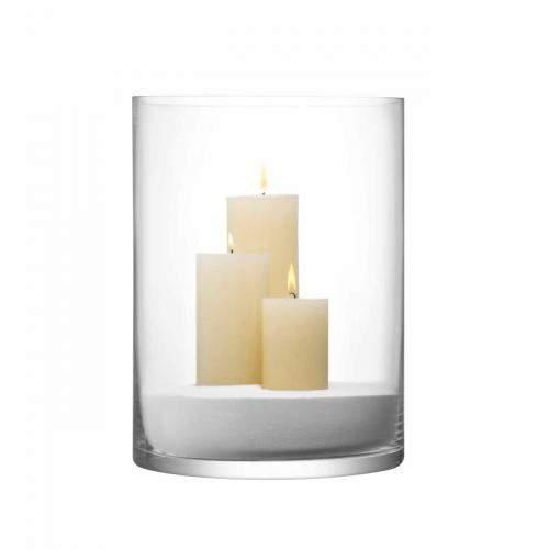 Column Vase/Kerzenglas, klar 40cm