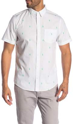 252062c0b28 Public Opinion Patterned Short Sleeve Woven Regular Fit Shirt