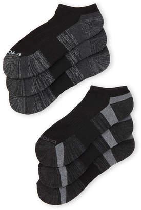 Reebok 6-Pack Low Cut Performance Training Socks