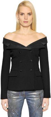 Wool Serge & Ottoman Sailor Jacket $1,260 thestylecure.com