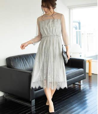 ViS (ビス) - ビス 【WEDDINGS&PARTIES】ロングレースドレス