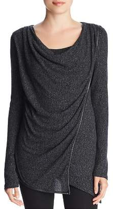 Andrew Marc Hachi Thermal Overlay Top