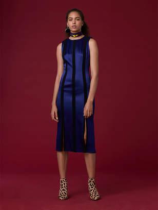 Diane von Furstenberg Tailored Paneled Dress