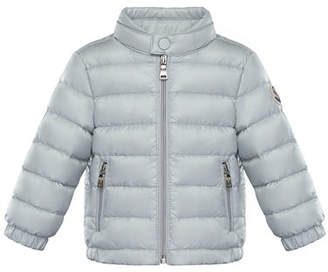 Moncler Acorus Lightweight Down Jacket, Size 12M-3Y