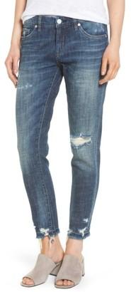 Women's Blanknyc Ripped Girlfriend Jeans $88 thestylecure.com