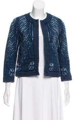 Citizens of Humanity Open Front Printed Jacket