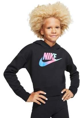 Nike Girl's Sportswear Cropped Hoodie