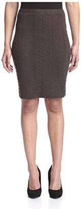 Natori Women's Knit Pencil Skirt, M